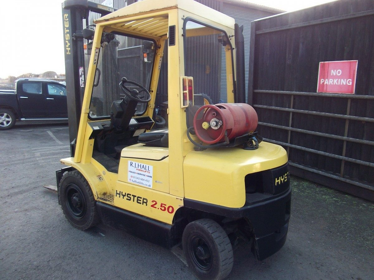 Hyster H2.50 XM Gas Forklift Truck
