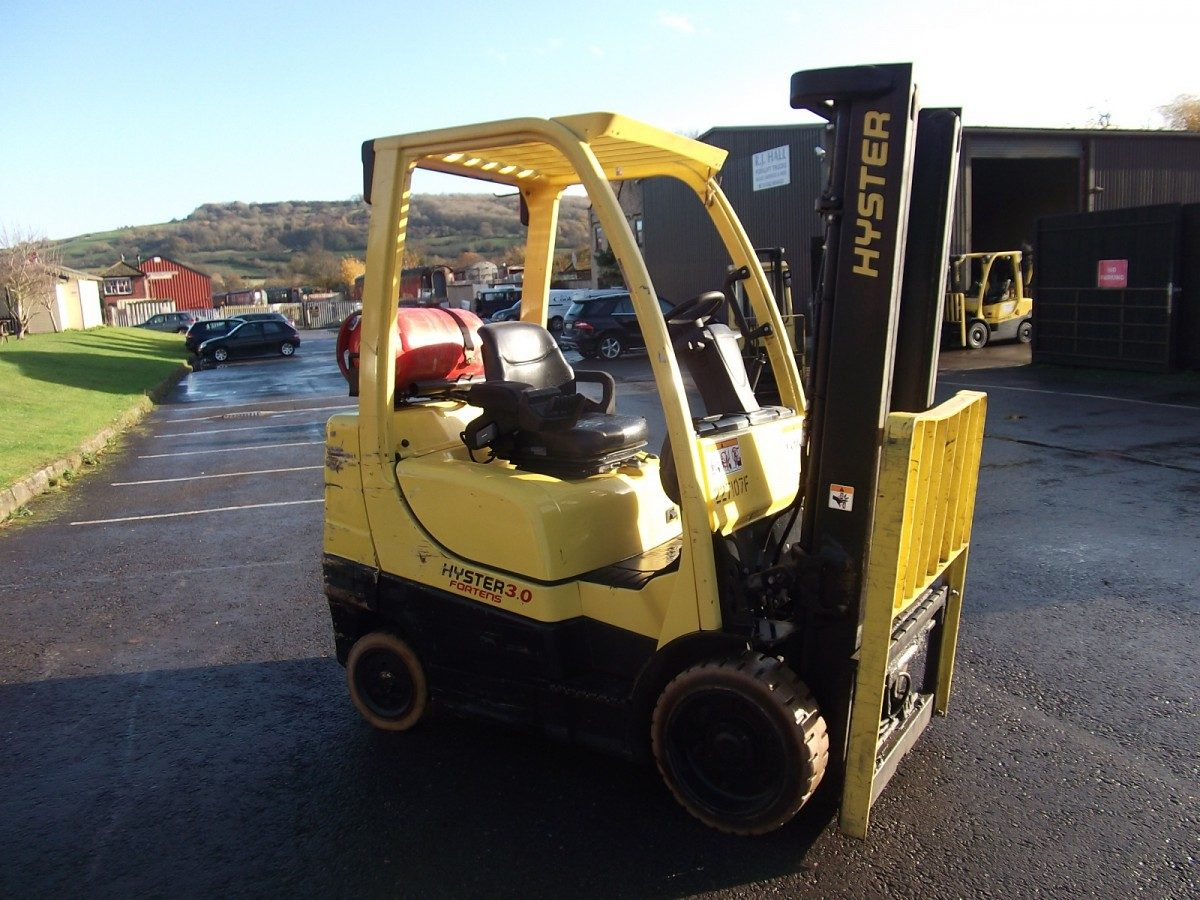 Hyster H3.00 FT Compact forklift