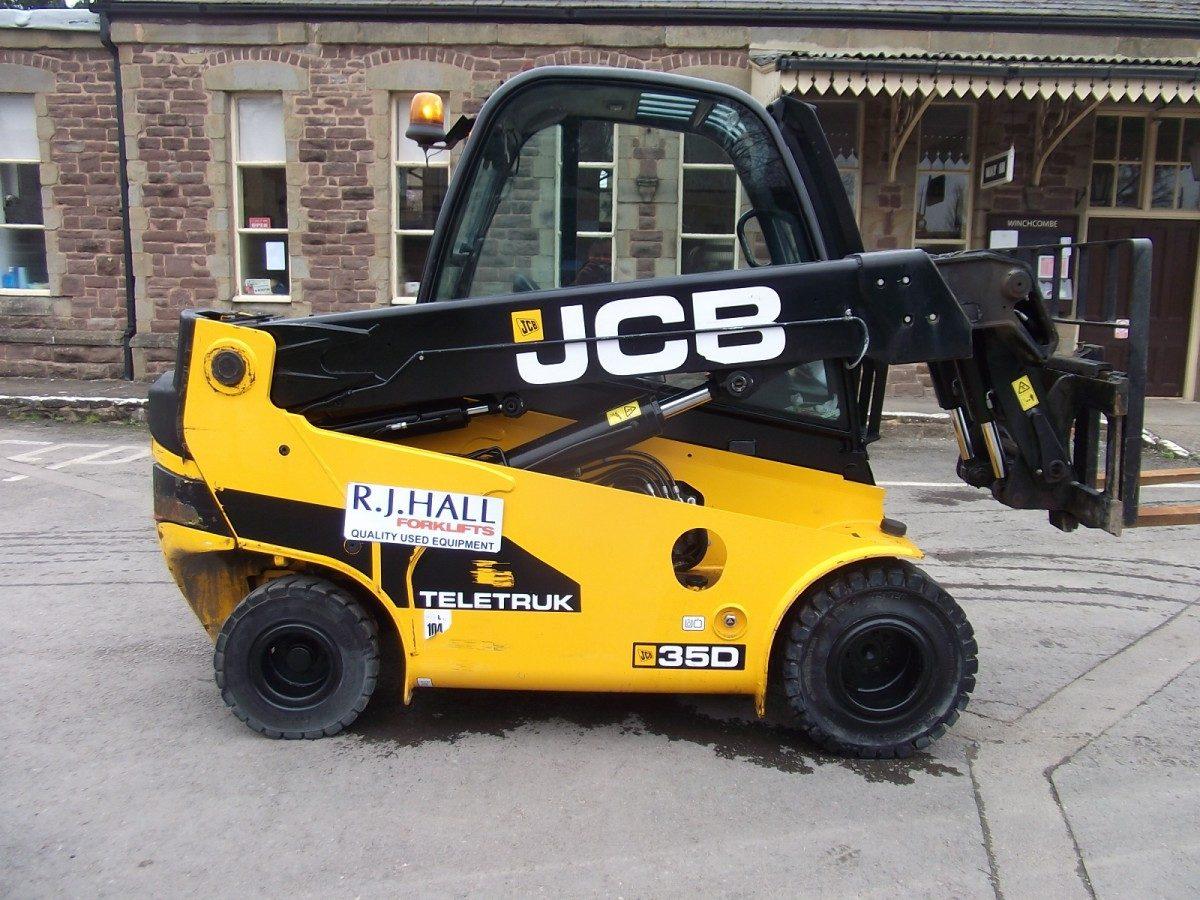 JCB 35D Teletruck